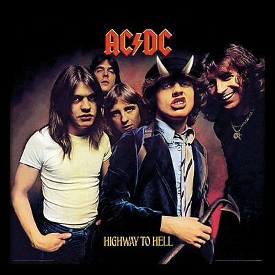 AC/DC - Highway to Hell - Framed Album Cover Print ACPPR48064