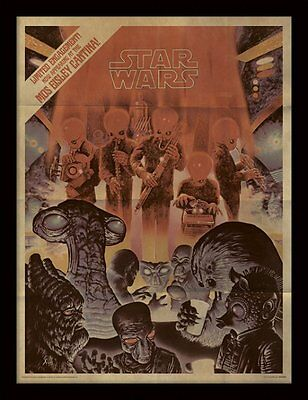 Star Wars - Mos Eisley Cantina Aged - 30 x 40cm Framed Poster Print FP11370P