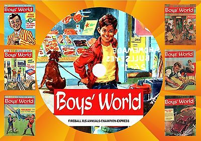 Boy's World Complete & Other Uk Comics On Printed Dvd Rom