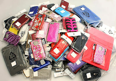 Wholesale Clearance Bulk Joblot of Mixed Mobile Phone Cases Covers x 100 pcs