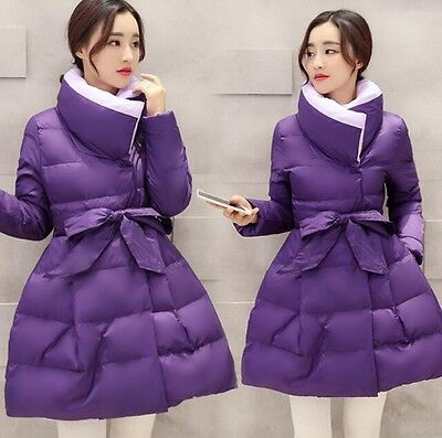 New Jacket Women Down Coat Womens Clothing Long Cotton Padded Slim Warm