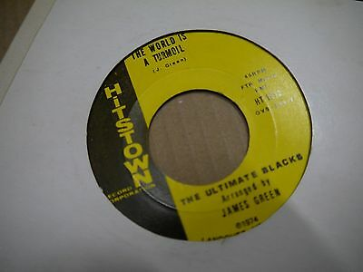 THE ULTIMATE BLACKS i like to be US SOUL/FUNK 45 HITSTOWN MINT-!!