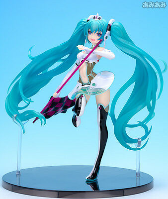 Hatsune Miku 2012 Racing version 1/7 scale Official PVC Statue Free postage