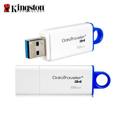 Kingston DTIG4 16 GB USB-Speicherstift 3.0 DataTraveler I G4 Flash Drive