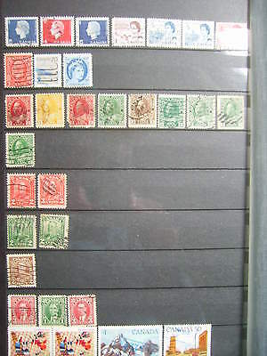 Lot Timbres Poste Canada