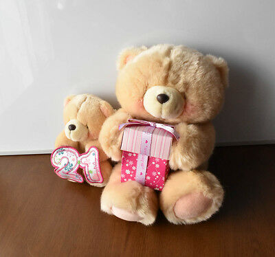 "Forever Friends Plush -Soft Toy Teddy Bears Bundle 5"" and 8""with TAGGED"