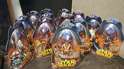 13X lot Star Wars Revenge of the Sith action figures