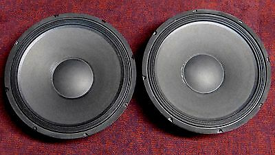 """Madison 15"""" 8-ohm 250 watts RMS PA DJ Woofer Driver Speakers (lightly used) pair"""