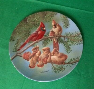 The Singing Lesson--Knowles Limited Edition Collector's Plate-Backyard Harmony