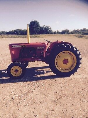 David Brown 990 Implematic Tractor
