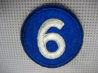 US Army Patch 6th Army Corps 1940s