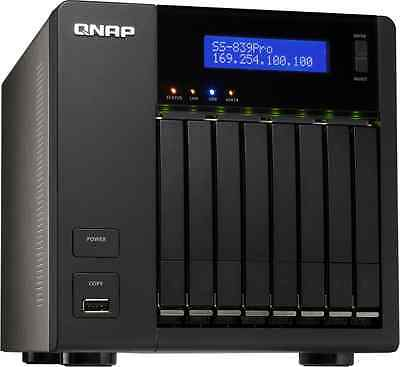 NAS Qnap SS-839-Pro + 8x500go (4To)