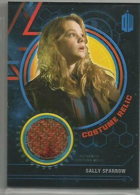 Dr. Who Extraterrestrial Encounters Sally Sparrow Costume Relic Card #/99