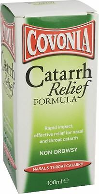 Covonia Catarrh Relief Cough Syrup Formula 100ml