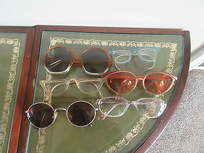 Vintage 6 Prs Sun Glasses / Spectacles National Health Ysl Foster Grant & Others
