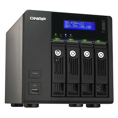 NAS Qnap TS-439-Pro II + 4x2To (8To)