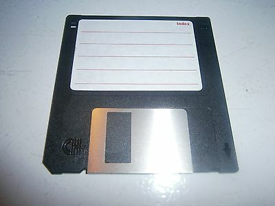 """1x RETRO 3.5"""" PC Floppy Disk GENERIC 1.44mb FORMATTED NEW OLD STOCK - FREE POST"""