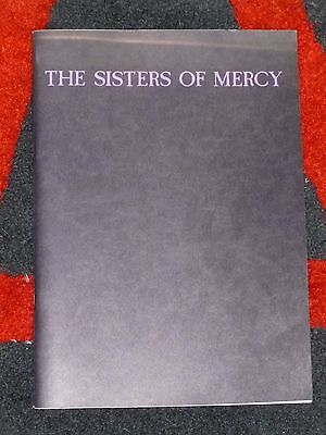 SISTERS of MERCY - Rare Fan Book - CLIPPINGS Reviews ARTICLES Discography