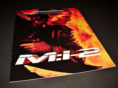 2000 MISSION IMPOSSIBLE 2 M:I-2 Movie Press Kit Production Notes Tom Cruise