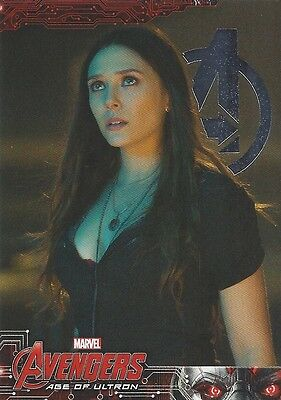 78 Scarlet Witch #78 Wanda Maximoff Silver Foil Parallel Avengers Age of Ultron