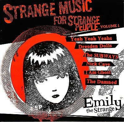 Strange Music For Strange People Volume 1 CD Emily The Strange Warren Ellis