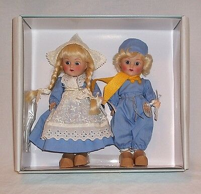 Ginny Holland Twins doll set LE 250 2004 brother sister Frolicking Fairy Tale