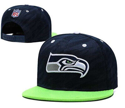 Seattle Seahawks NFL Cap semi curved Snapback Sea Hawks flat hat snap back