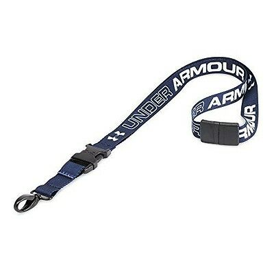 Under Armour Undeniable Lanyard, Midnight Navy/White, One Size