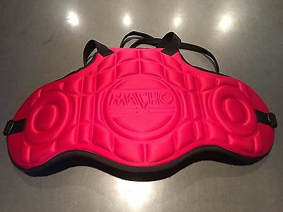 Macho Chest Protector Taekwondo Martial Arts Sparring Red Lightweight