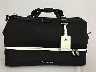 Tumi Limited Edition Lexus Crafted Line Framed Duffel/Carryon Bag Black 22328