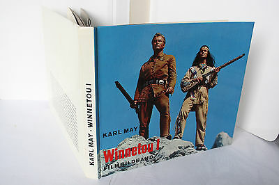 Karl May - Bertelsmann Lesering Film-Bildbuch - Winnetou I TOP Exemplar