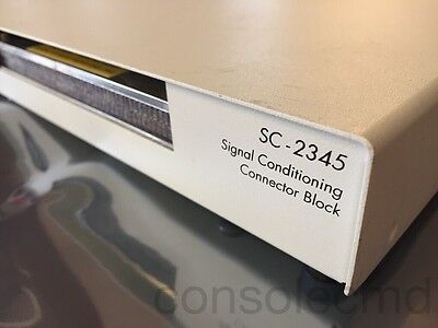 NI National Instruments SC-2345 SCC Signal Conditioning Enclosure w/ SCC-PWR01
