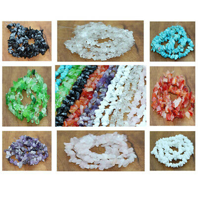 15pcs 5-10mm Freeform Stone Chip Gemstone For DIY Jewelry Making Spacer Beads