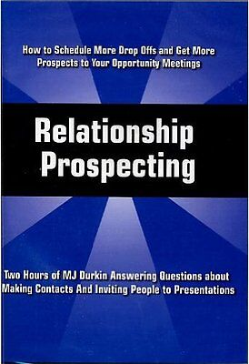 Relationship Prospecting - MJ Durkin Answering Questions - CD NEW