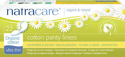Brief liner Panty liners Ultra Thin - natracare - 22 Pieces