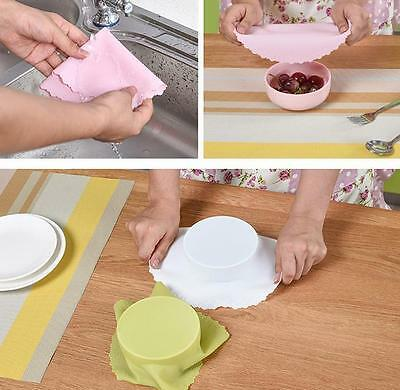 Creative Silicone Fresh Re-usable Food Wraps Kitchen Tools Free shipping New