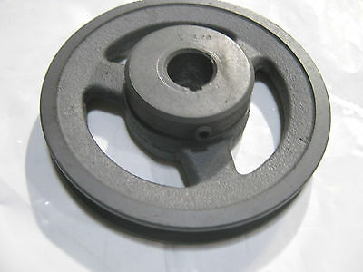 "Sheave Pulley Single Groove 3/4"" Bore 5"" OD New!"