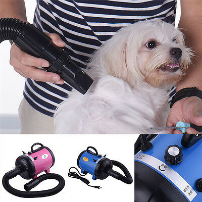 Dog Dryer Professional Dog Grooming Pet Dryer – Portable Hair Dryer 2 tempreture