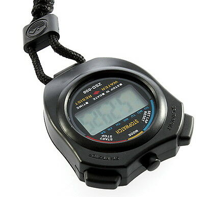 Digital Chronograph Sports Stopwatch Counter with Strap SM