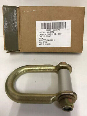 Military Clevis 11-1-2801 CAGE 3L266 1670-01-162-2372 Cargo