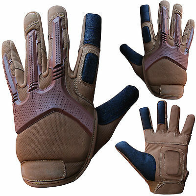Mechanics Gloves Work Safety Tradesman Worker Gloves Ventilated Gripy