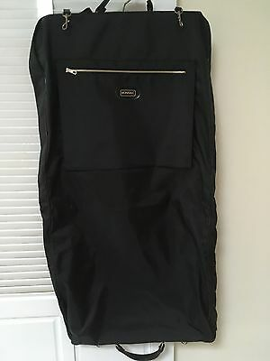 Monsac High Quality Travel Nylon Garment Suit Bag with Accessories Pockets