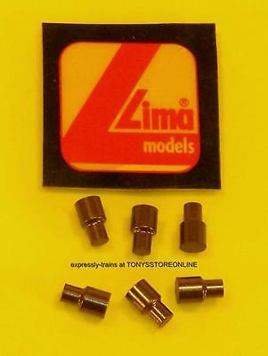 original oo/ho lima spares 6x shouldered type brushes (no springs)(part 600875)
