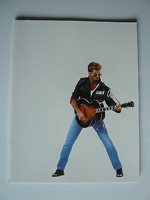 George Michael Faith Concert Programme & Ticket Complete With Merchandise Flyer