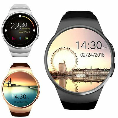 KW18 Waterproof Bluetooth Smart Watch Phone Mate For Android IOS iPhone Samsung
