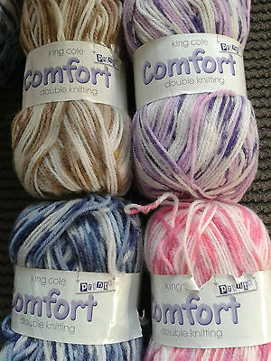 King Cole Comfort Double Knit  Wool 100 G