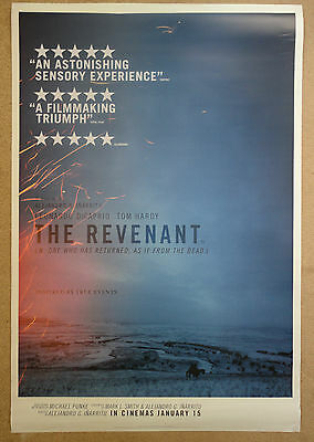 "The Revenant (2016), Original One Sheet Cinema Poster, 27""×40"" (+Free Gift)"