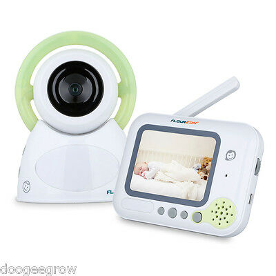 "digitale Baby Monitor 3.5""LCD video Bambino Tenere sotto controllo two way EU"