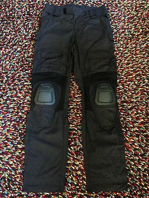 "CRYE-Precision Combat-Pants (""Army-Custom"") in ""Black"", Size 32/Long - NEW!!!"