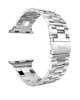 HOCO Stainless Steel Bracelet pour Apple Watch 38mm Argent